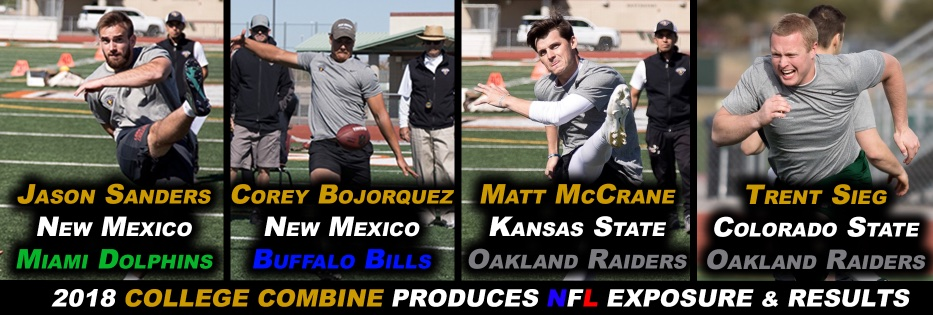 2012 COLLEGE SENIOR COMBINES PRODUCES RESULTS FOR SPECIALISTS